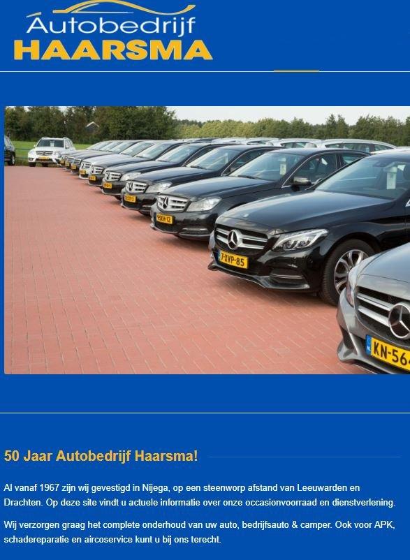 Auto bedrijf Haarsma Nijega