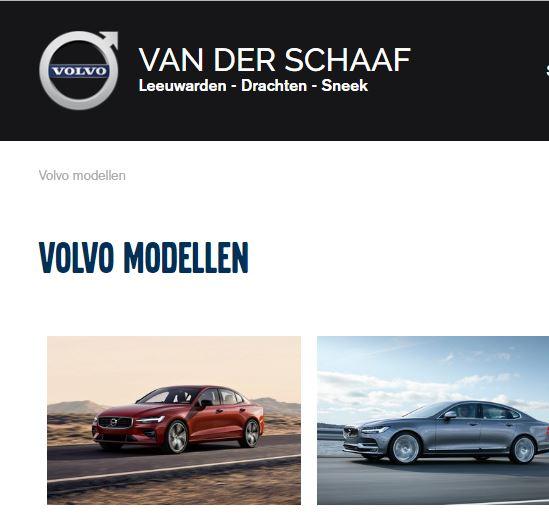 Volvo van der Schaaf Drachten