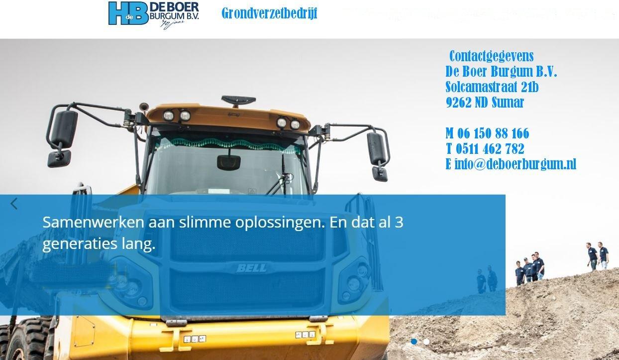 Boer Heinze grondverzet bedrijf Sumar