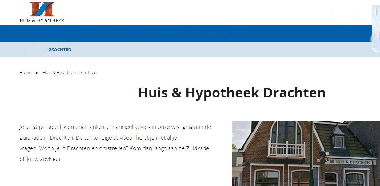 Huis en Hypotheek Drachten