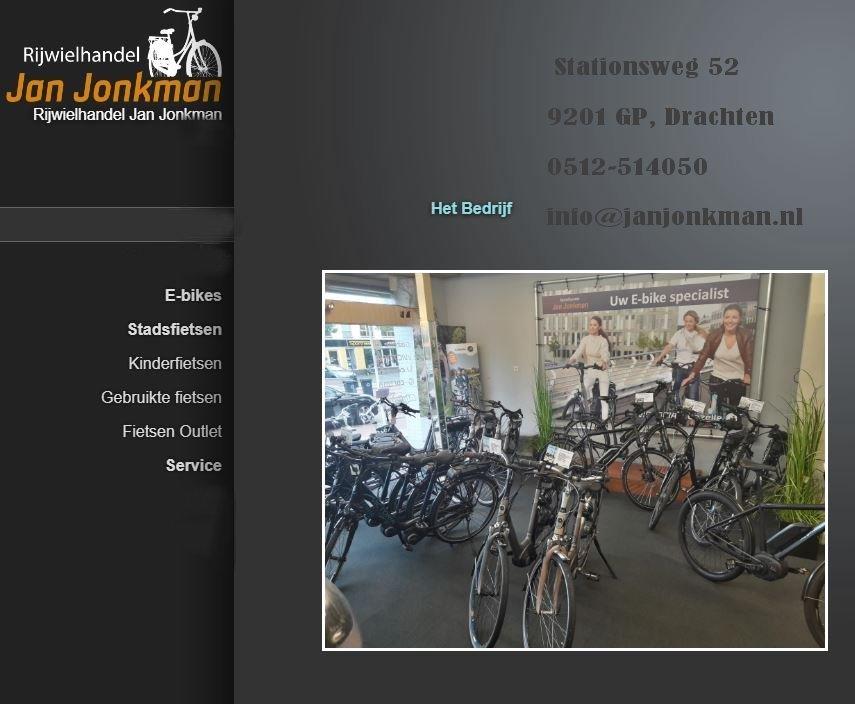 Jan Jonkman rijwielhandel Drachten