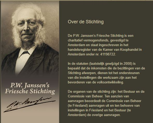 Janssens P.W. Friesche Stichting