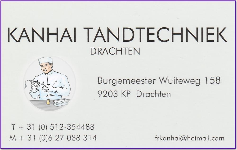 Kanhai  tandtechnicus Drachten